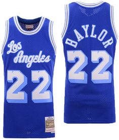 01cb358b8b6 Mitchell & Ness Men Elgin Baylor Los Angeles Lakers Hardwood Classic  Swingman Jersey