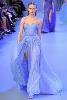 Elie Saab (SS 2014) #PFW #weddingguest #vestidodefiesta #vestidosinvitadas #tendenciasdebodas