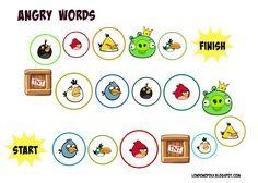 Londonopoly: Angry Words - kolejna gra do powtórki słówek :)