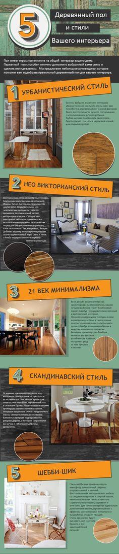 Как правильно подобрать деревянный пол под выбранный стиль интерьера. Советы и рекомендации.