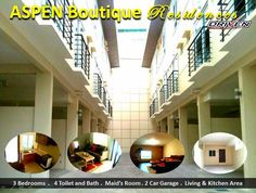 Elegant Metro Manila Properties: ASPEN BOUTIQUE RESIDENCES Townhouse for Sale in Ma... Maids Room, Makati, Car Garage, Manila, Aspen, Townhouse, Boutique, Elegant, Classy