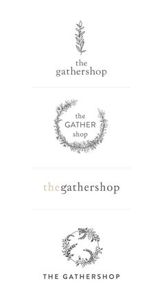Cocorrina: NEW IN PORTFOLIO: THE GATHERSHOP LOGO