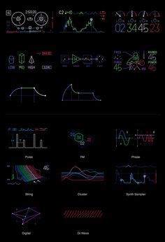 Creative Icons, Symbols, Repponen, and Anton image ideas & inspiration on Designspiration Information Design, Information Graphics, User Interface Design, Ui Ux Design, Chart Design, Business Intelligence, Big Data, Teenage Engineering, Ui Design Inspiration