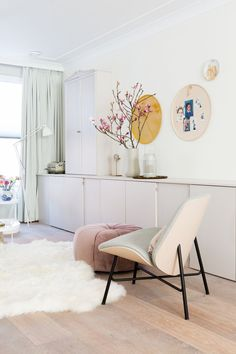 wohnen Cozy Living Spaces, My Living Room, Home And Living, Interior Styling, Interior Design, Diy Zimmer, Scandinavian Home, Home Staging, New Room