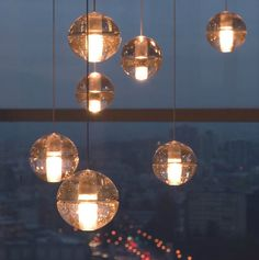 Find More Pendant Lights Information about  New Design Lustres BOCCI Magic Buble Glass Sphere Ball Pendant Lamp Living Room Stair Lighting Chandelier Lamps G4 LED Bulb ,High Quality lamp factory,China lamp cord Suppliers, Cheap lamp from Zhongshan East Shine Lighting on Aliexpress.com