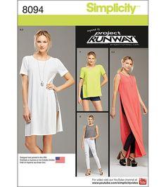 Simplicity Patterns US8094D5 Sportswear-4-6-8-10-12