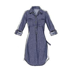 Buy McCall's Women's Dress Sewing Pattern, 6885, B5 Online at johnlewis.com