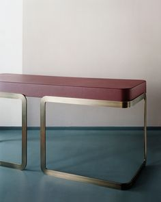 MARTA-SALA3. bench seat with 70s-ish Italian glam
