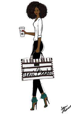 Tomando café com estilo #crespos