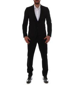DSQUARED2 Dsquared2 Men'S  Black Wool Suit'. #dsquared2 #cloth #suits