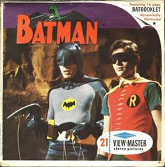 Batman on View-master.