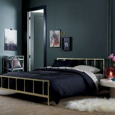 Black bedrooms for carpet black linen floral wall color interior ideas