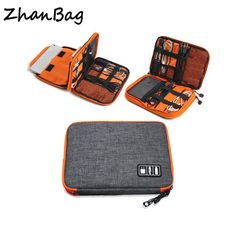 f3a8a208f1bcc Promo Offer High Grade Nylon 2 Layers Travel Electronic Accessories  Organizer Bag