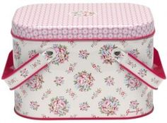 GreenGate Tin Boxes Picnic Millie White review at Kaboodle