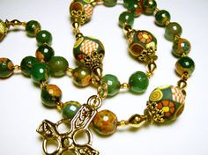 Anglican Protestant Prayer Beads Rosary by SweetchildJewelry, $38.00