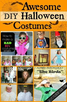 15 Awesome DIY Halloween Costumes @sassystyleredesign.com