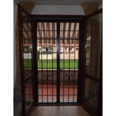Wrought Iron Gate Door. Customize Realizations. 600 Wrought Iron, Gate, Divider, Room, Home Decor, Arched Doors, Bedroom, Decoration Home, Portal