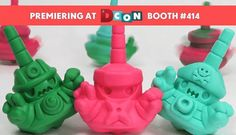 Inami Toys Announce New Tumble Top Colourways at DCon!