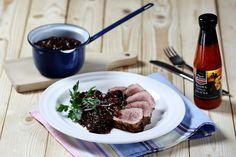 Švestková omáčka s chilli ke grilovanému masu Food Styling, Steak, Beef, Steaks, Ox