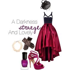 """Outfit for """"A Darkness Strange and Lovely"""" by emily-bradley-dorman on Polyvore"""