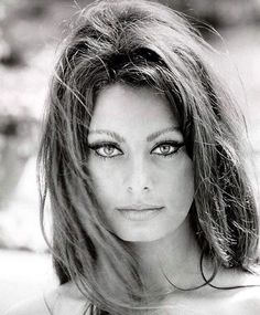 """define eye contact... (Sofia Loren)"""
