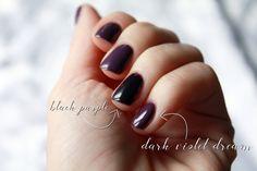 Znalezione obrazy dla zapytania semilac 014 dark violet dreams