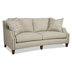 Sam Moore Austin 2 over 2 Sofa - Dove - Add a distinctive look and seating to your living room with the Sam Moore Austin 2 over 2 Sofa - Dove . This sofa has a traditional look made ultra-stylish...
