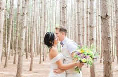Beautiful forest bride & groom wedding pictures Kortright Centre of Conservation. Groom Wedding Pictures, Wedding Groom, Bride Groom, Wedding Photos, Nature Inspired Wedding, Beautiful Forest, Forest Wedding, Real Weddings, Wedding Photography