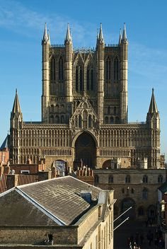 Lincoln Cathedral, Lincolnshire, England.