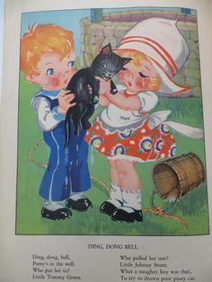 Vintage Ruth E. Newton book print, via Etsy.