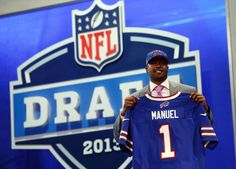Welcome to the team, E.J. Manuel. You look good in Bills blue!
