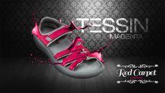 """Diesen Sommer werden die roten und blauen Damen-Sandalen der """"Hingucker"""" schlecht hin sein. Gerade eben wie Ferien im Tessin und darum auch der Name dieser bunten Damen-Sandalen. Dank des Klettverschlusses kann die Länge der Riemchen je nach Bedürfnis eingestellt werden. Die Sandale """"Tessin"""" eignet sich nicht nur für den Alltag an warmen Tagen, sondern auch als Hausschuh für das ganze Jahr. Ab ($340) gibt es verschiedene Modelle für Frauen in den Schuhgrößen von 34 1/3 - 43."""