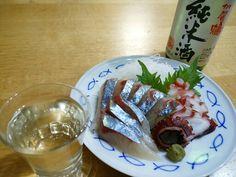 sashimi tako shima-aji