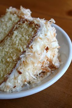 Lemon-Filled Coconut Cake with Cream Cheese Frosting Recipe | Lulu the Baker