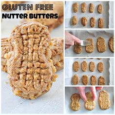 Gluten Free Nutter Butters.  Way better than store bought and easier than you think!  For serious peanut butter lovers.  NO refined sugars, NO refined flours and full of peanut buttery goodness.