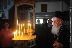 Η επιστροφή του Οικουμενικού Πατριάρχη στο νησί του (ΦΩΤΟ) | Amen.gr - Πύλη Εκκλησιαστικών Ειδήσεων