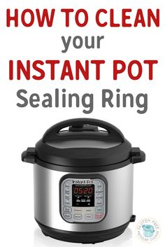 One of the most common issues that people have with their Instant Pot is knowing how to clean the Clean the Instant Pot Sealing Ring that sits inside the lid, this post lists several ways you can do that to remove smells.