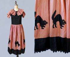 RESERVED Rare Antique Halloween Costume / by GuermantesVintage