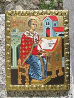 Icona di Sant'Agostino (1999) www.mirabileydio.it