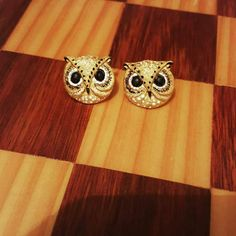 Gorgeous elegant Credit : @thebelleaurora -  Awesome.Earrings by. Credit :  @froggypumpkincreative  Cannot wait to wear these! . #owl #owls #owllove