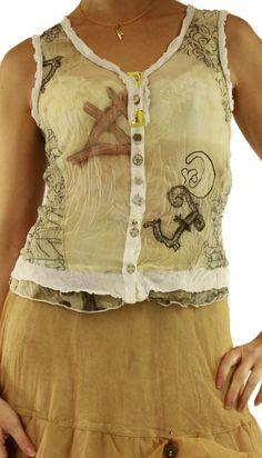 Blouse shirt 72103 print Elisa Cavaletti