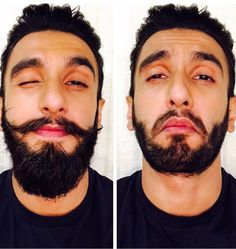 Ranveer Singh Trims Moustache and Beard To Shoot As Young Alauddin Khilji - BollywoodCat Sanjay Leela Bhansali, Indian Star, Beard Grooming, Ranveer Singh, New Gossip, Celebrity Gallery, Handsome Actors, Edgy Look, Indian Celebrities