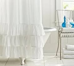 Resultado de imagen para cortinas para baño con volados
