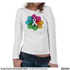 Upgrade your style with Awareness t-shirts from Zazzle! Browse through different shirt styles and colors. Search for your new favorite t-shirt today! Lung Cancer Causes, Cancer Awareness Shirts, Natural Cancer Cures, Why Do People, Graphic Sweatshirt, T Shirt, Lunges, Shirt Style, Shirt Designs