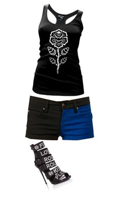 """""""Untitled #6026"""" by ania18018970 on Polyvore featuring Tripp and Cartel Ink"""