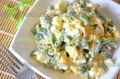Салат из фасоли и ананаса
