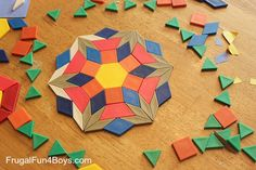 Pattern Block Art