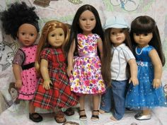 Never Grow Up: A Mom's Guide to Dolls and More!: A New Doll Comparison Post