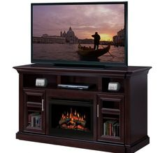 Dimplex - Home Page » Fireplaces » Media Consoles » Products » Bailey Media Console