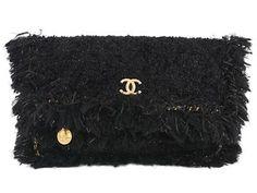 CHANEL,  Ltd, black cloth, 35x25cm, hologram 24427854. #chanel #bag #ltd